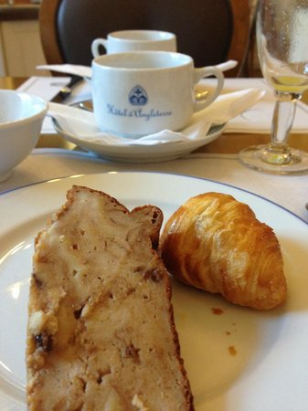 Best Western Hotel D'Angleterre : Breakfast is included and handles the delights of American and European desires.