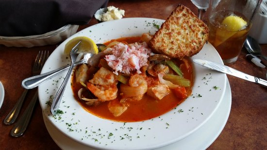 Georgie's Beachside Grill: Fishermans Stew
