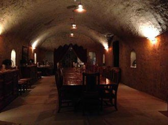 Helwig Vineyards & Winery: Caves...special dinning area for members in the cave...