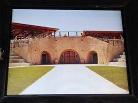 Helwig Vineyards & Winery: Backside of caves...amphitheater