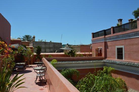 Riad Alili : Vue terrasse 1