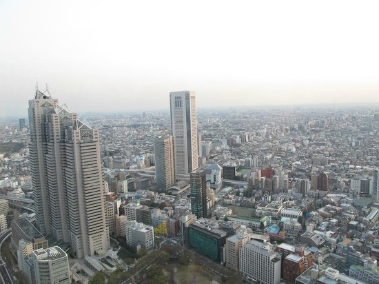 Tokyo Metropolitan Government Buildings: day view