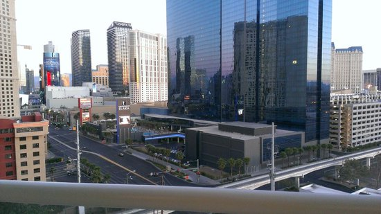 Signature at MGM Grand : View from 11th Floor Tower 3