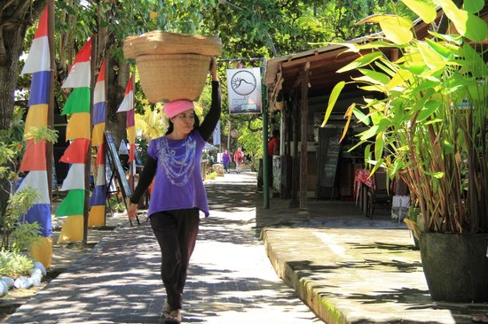 Prama Sanur Beach Bali: on The Seawalk