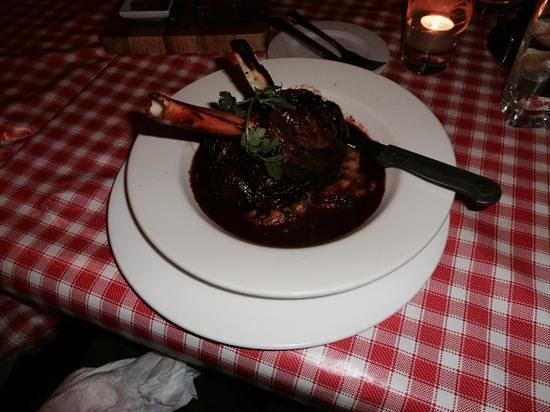 Coach Lane Restaurant at Donaghy's Bar : lamb shank special €18