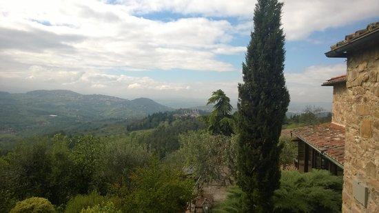 Florence La Paggeria B&B: Our view