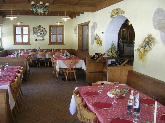 Chalet Lago Antorno: Sala Pranzo