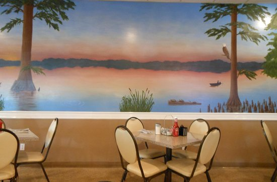 Mural Picture Of Lakeview Dining Room Tiptonville Tripadvisor