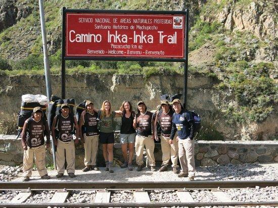 Inti Sun Trek: Inca Trail April 2014