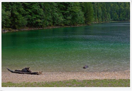Eibsee: il colore del lago