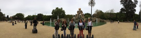 Barcelona Segway Glides: Our morning on Segway tour