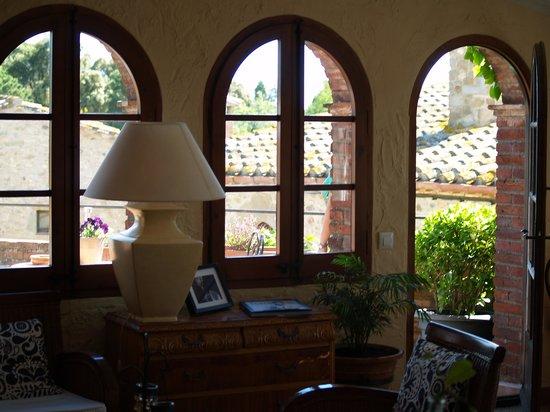 Casa Matilda Bed and Breakfast : sala terrasa