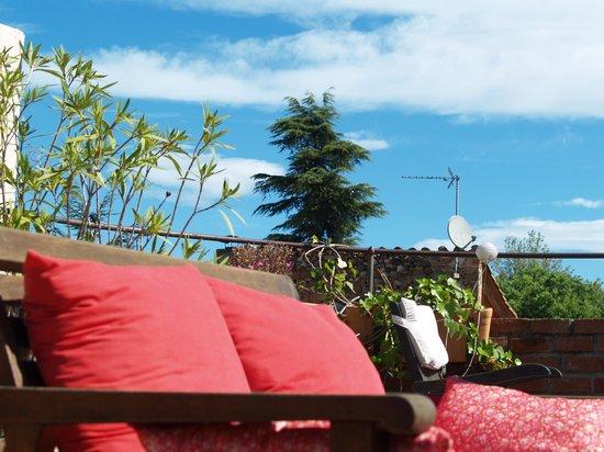 Casa Matilda Bed and Breakfast : vista desde terrasa superior