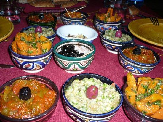 Riad Amazigh Meknes: Cena