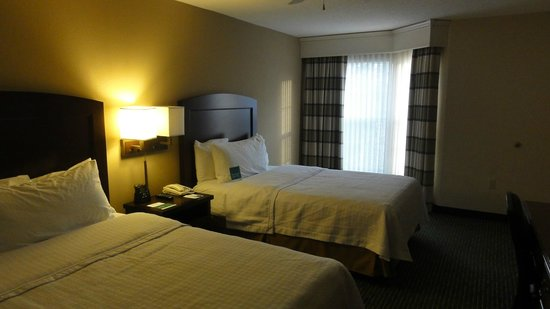 Homewood Suites by Hilton Boston - Billerica : Bedroom in our suite