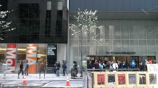 The Museum of Modern Art (MoMA): Front of MoMA. Even the outside is nice!
