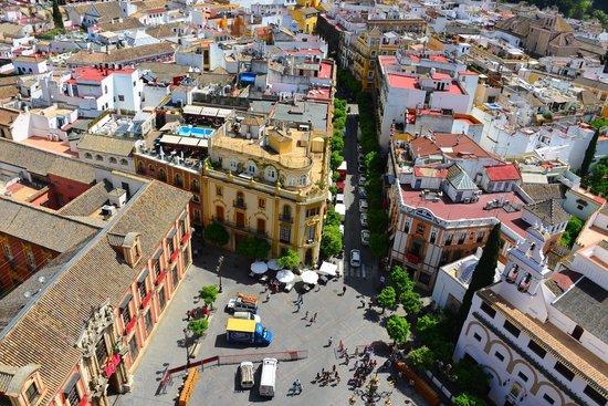 Torre Giralda : view from Giralda Tower