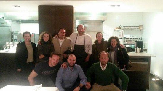 """Cocinandos: Foto con Juanjo, el chef y """"director de orquesta"""""""