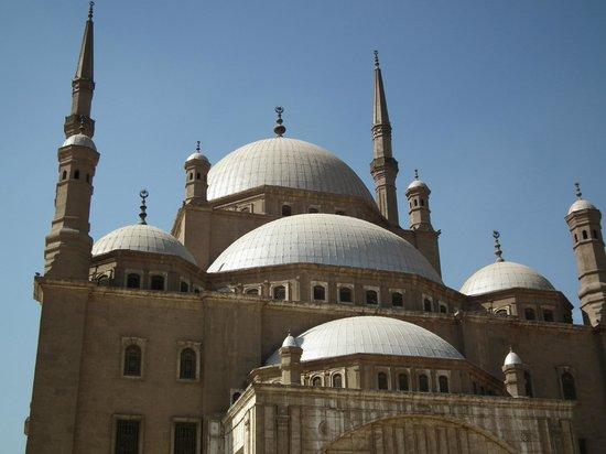 Mosquée Mohammed Ali : Outside