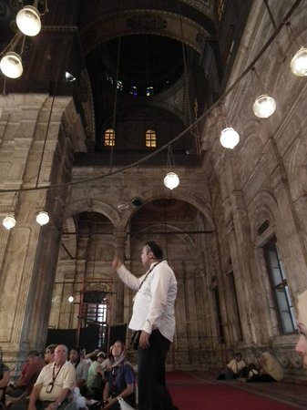 Mosquée Mohammed Ali : Tour