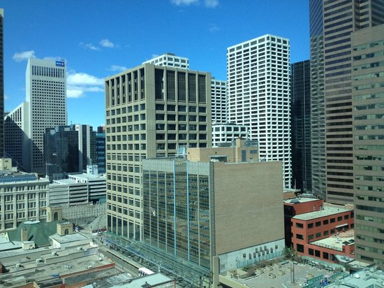 Hyatt Regency Calgary: my view!