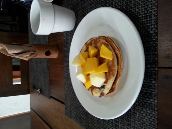 Mi Casa en Cozumel: Breakfast
