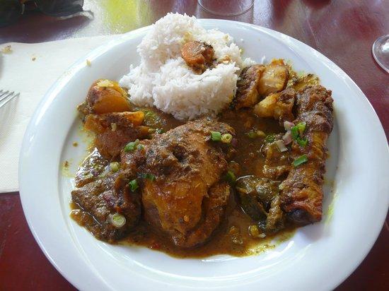 La Fringale : colombo de poulet