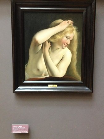 Musee du Louvre: Gorgeous painting, so flawless