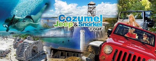 Cozumel Jeep And Snorkel Tour