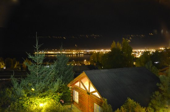 Cabanas Solares del Sur: Vista de la ciudad desde Quidu