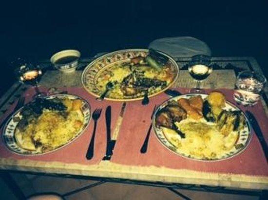 Riad Swaka: couscous de Mona