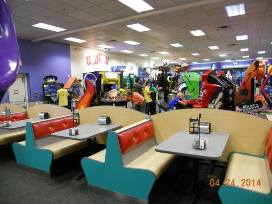 Tables And Mixed In Near Games Picture Of Chuck E