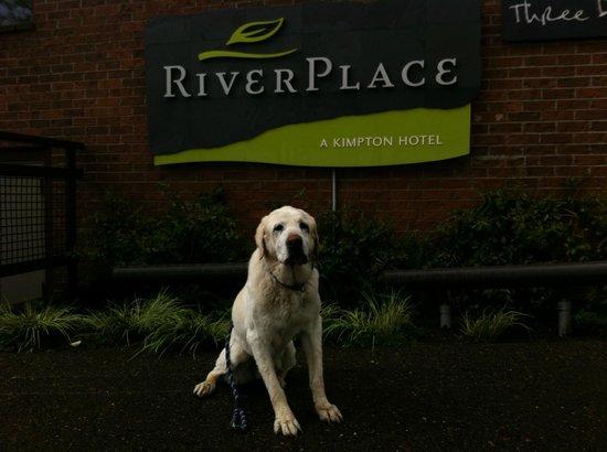 Kimpton RiverPlace Hotel : Ben!