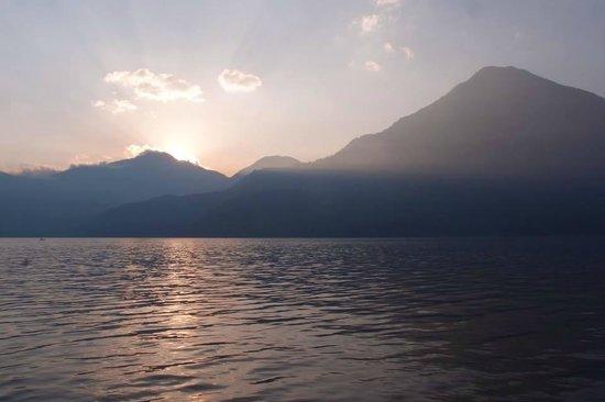 Posada de Santiago : Amazing Sunsets