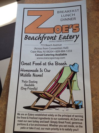 ‪Zoe's Beachfront Eatery‬