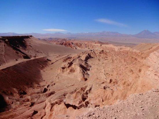 Valle de la Luna - Valle de la Muerte: o vale