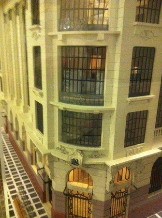 Centro Cultural Banco do Brasil São Paulo: Maquete do prédio