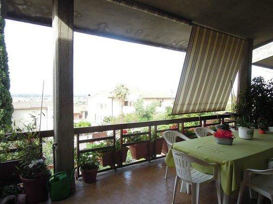 B&B Nonna Luisa: Main terrace