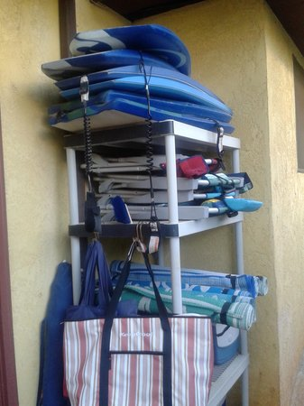 Hale Huanani Bed and Breakfast: Free beach gear