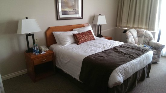 Embassy Inn: Nice and comfortable bed