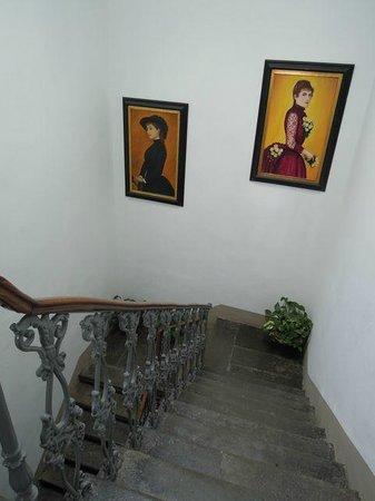 23 bed&breakfast: Stairwell