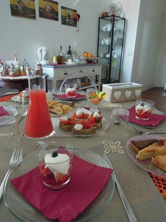23 bed&breakfast: One of our fabulous breakfasts