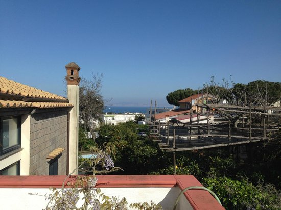Villa Maresca: View from the Balcony