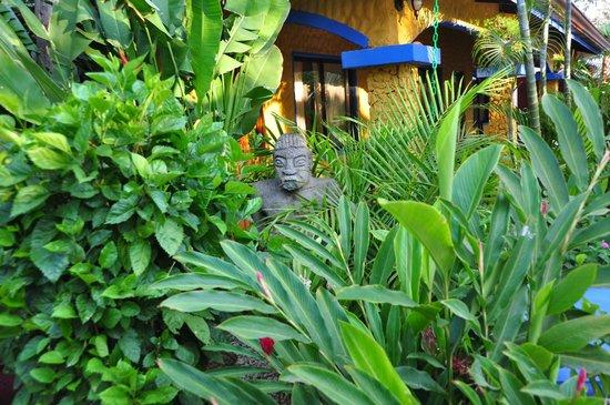 Conchal Hotel: Statue