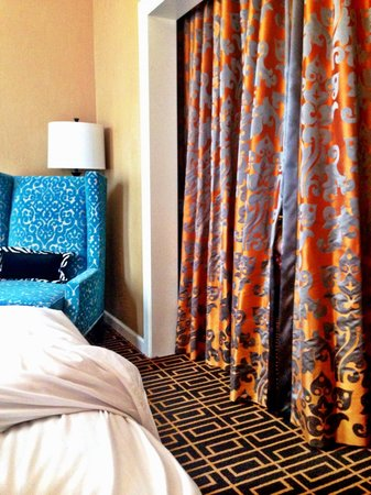 Kimpton Hotel Monaco Denver : plenty of room in the beautiful Monte Carlo (and had ability to partition off so kids could nap)