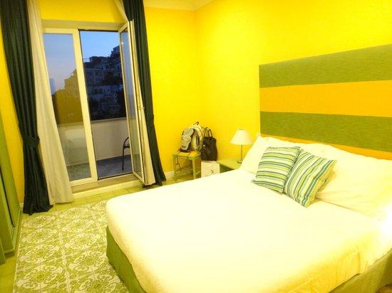 Hotel La Bougainville: Quarto muito confortável