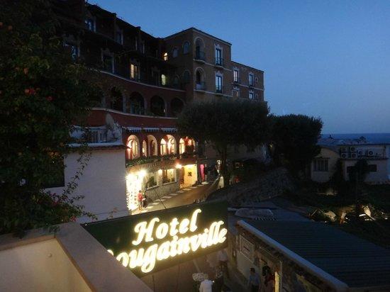 Hotel La Bougainville: A linda vista da varanda do quarto no fim da tarde