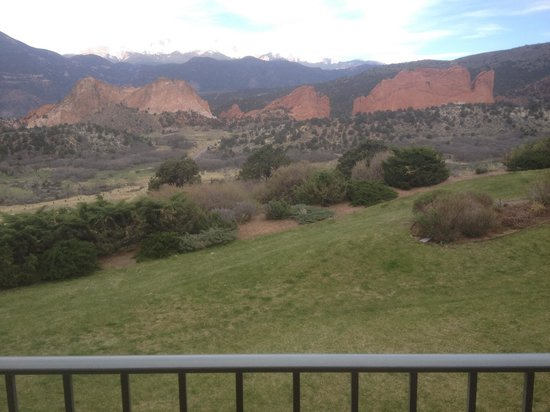 Garden of the Gods Collection: From our balcony