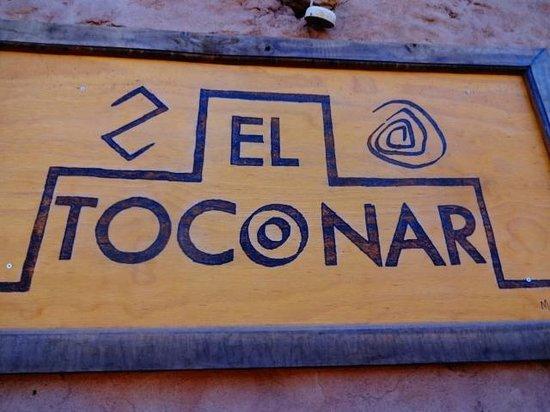 El Toconar: entrada
