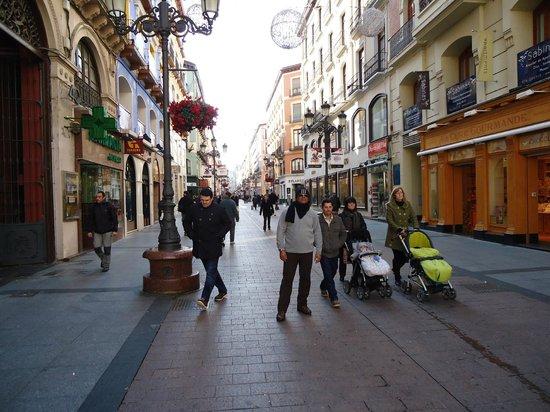 Parque de atracciones Zaragoza: A cidade é bonita, e limpinha